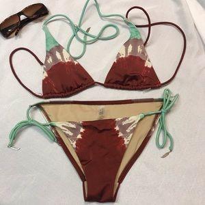 Victoria's Secret Tie dye bikini
